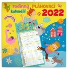 Rodinný plánovací kalendář 2022 nástěnný