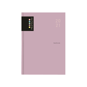 Oxybag Diář 2021 A5 denní - PASTELINi fialová