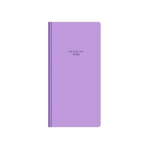 Oxybag Diář 2022 PVC kapesní měsíční - PASTELINi fialová