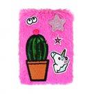 Albi Diář 2019/2020 týdenní studentský, plyšový - kaktus