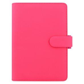 Filofax Kroužkový diář 2019 Saffiano Fluoro osobní - růžový