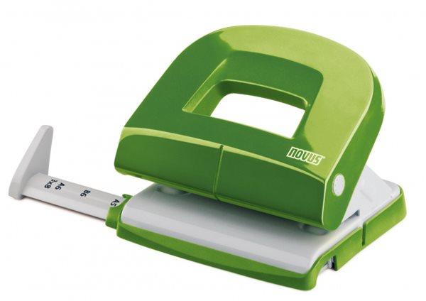 NOVUS Děrovačka E216 Evolution fresh - zelená lesklá