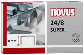 NOVUS Drátky do sešívačky 24/8 SUPER - 1000 ks