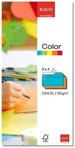 Obálky ELCO Color DL 20 ks mix barev