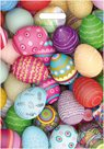 Stil Velikonoční igelitová taška 35 × 50 cm - Malovaná vajíčka