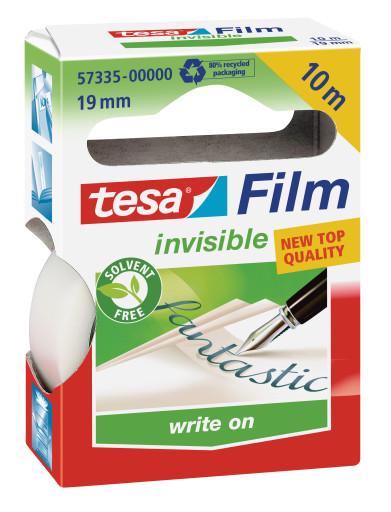 Tesa Lepicí páska Invisible 19mm x 10m popisovatelná