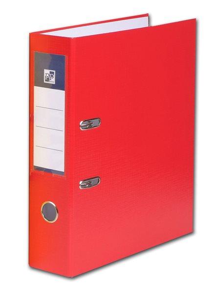 PP Pákový pořadač plastový A4 PP 7cm - červený