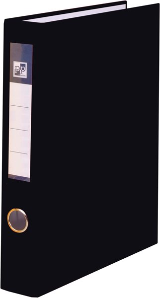 PP 4 kroužkový pořadač plastový A4 PP 4cm - černý