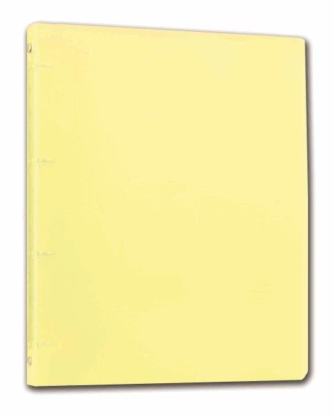 PP Pořadač 4kroužek Opaline A4 2cm - žlutá