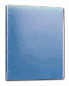 PP Pořadač 4kroužek Opaline A4 2cm - modrý