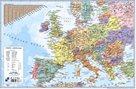 PP Psací podložka na stůl 60x40 - mapa Evropa
