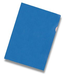 """Zakládací obal """"L"""" A4 PVC 150 mic 10 ks - modré"""
