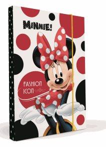 Karton PP Desky na sešity s boxem A5 - Minnie 2013
