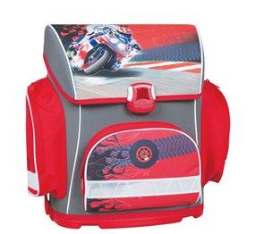 Školní batoh Premium - Motorka