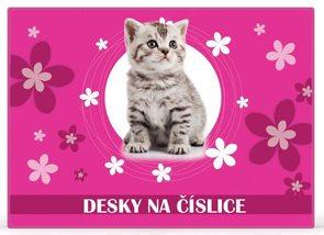 Karton PP Desky na číslice - Kočka