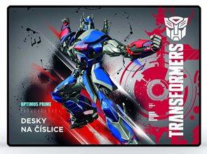 Karton PP Desky na číslice - Transformers 2014