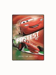 Karton PP Desky na abecedu - Cars 2014