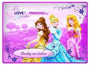 Karton PP Desky na číslice - Princezny