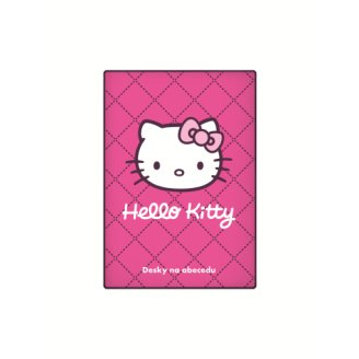 Karton PP Desky na abecedu A5 - Hello Kitty