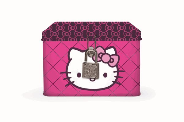 Karton PP Pokladnička - Hello Kitty