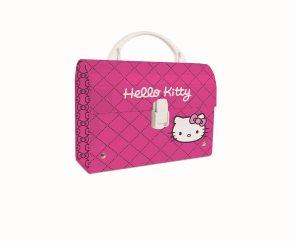 Karton PP Dětský kufřík MINI - Hello Kitty 2014