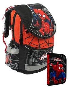 Školní batoh PLUS + penál - Spiderman