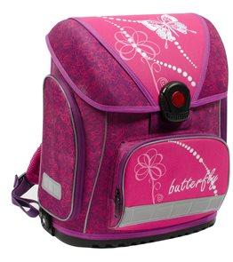 Školní batoh Premium - Motýl