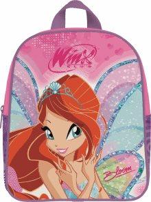 Dětský batoh - předškolní - Winx - fialová