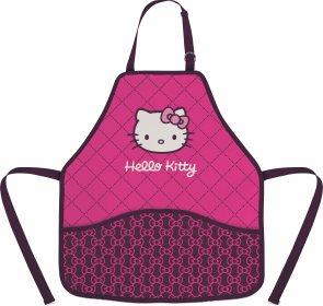 Zástěra do výtvarné výchovy - Hello Kitty