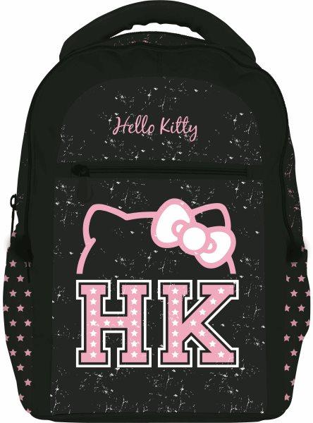 Studentský batoh - Hello Kitty - černá