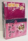 Karton PP SET BOX A4+A5 Kočka + dárek sešit 444