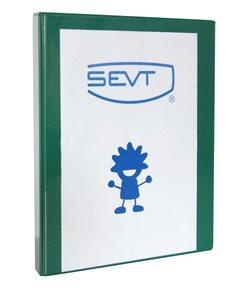 Karton Katalogový vazač Personal 3,5 cm - zelený