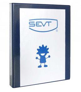 Karton Katalogový vazač Personal 7cm - modrý