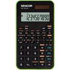 Kalkulačka Sencor SEC 106 GN - černozelená