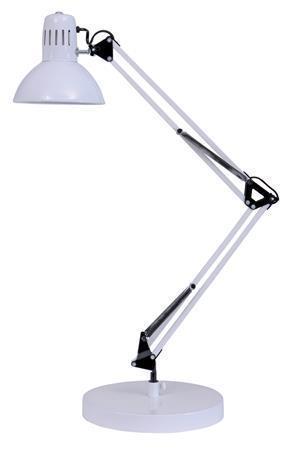 Stolní lampa Architect, 11 W - bílá