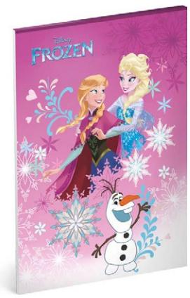 Skicák A4, 50 listů, nelinkovaný - Frozen