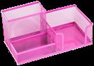 Drátěný stojánek víceúčelový Combo barevný - růžový
