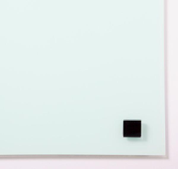 NAGA super silné magnety - sklo, 25 x 25 mm, černá, 2 ks