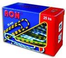 RON Kancelářské sponky barevné 50 mm - 25 ks