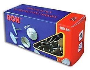 RON Připínáčky (kobercový hřeb) 14 mm - 100 ks