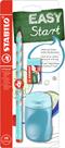 STABILO EASYgraph školní set P pro praváky - modrá (tužka HB, ořezávátko, pryž)