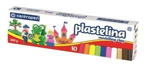 Centropen Plastelína 200 g - 10 barev