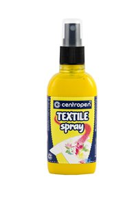Centropen Barva na textil ve spreji 110 ml - žlutá