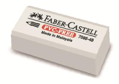 Stěrací pryž Faber-Castell PVC-FREE 7086