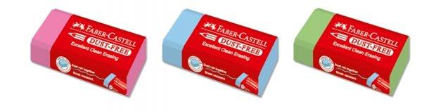 Stěrací pryž Faber-Castell DUST FREE - mix barev