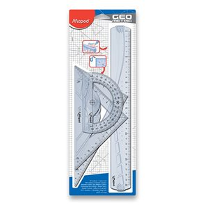 Sada pravítek MAPED Geometric Maxi, 4 ks