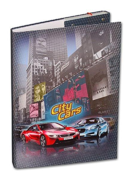 Box na sešity A4 Emipo - City Cars