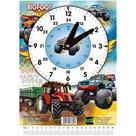 Školní hodiny Emipo - BIGFOOT / Traktor
