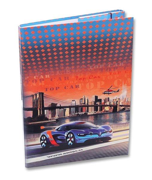 Box na sešity A4 Emipo - Top Car