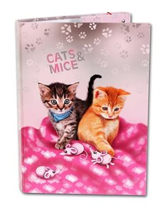 Box na sešity A4 Emipo - Cats&Mice
